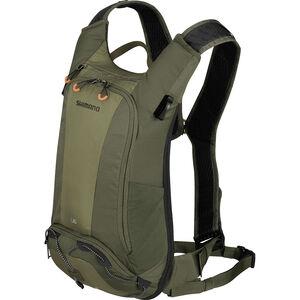 Shimano Unzen II Trail Backpack 6l olive green olive green