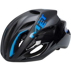 MET Rivale Helm black/cyan black/cyan