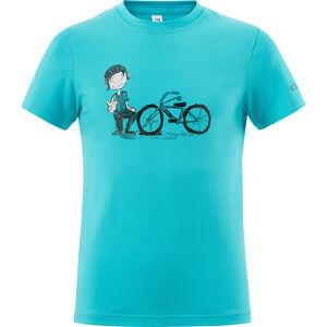 Cube André T-Shirt Juniors melange blue bei fahrrad.de Online