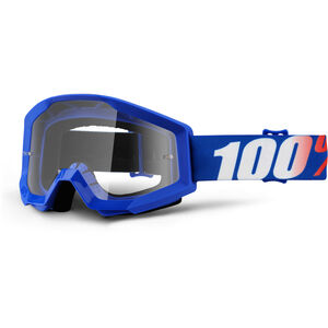 100% Strata Goggles nation-clear nation-clear