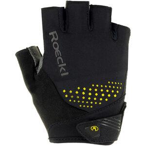 Roeckl Iberia Handschuhe schwarz/gelb schwarz/gelb
