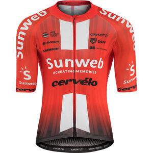 Craft Team Sunweb Aerolight SS Jersey Herren sunweb red sunweb red