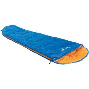 High Peak Boogie Schlafsack links Kinder blau/orange blau/orange