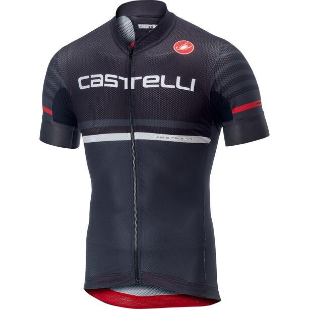 Castelli Free AR 4.1 FZ Jersey Herren black/dark grey