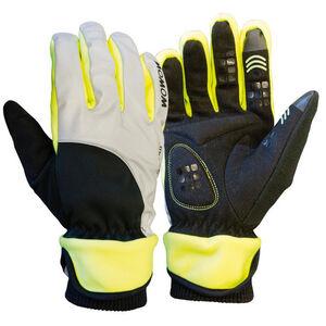 Wowow Dark 4.0 Handschuhe Unisex reflektierend grau/schwarz/gelb bei fahrrad.de Online