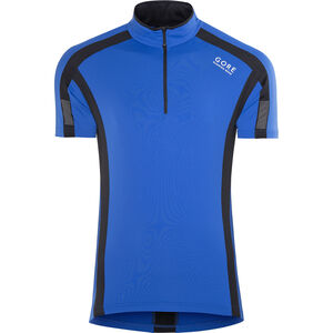 GORE RUNNING WEAR Air Zip Shirt Men brilliant blue/black