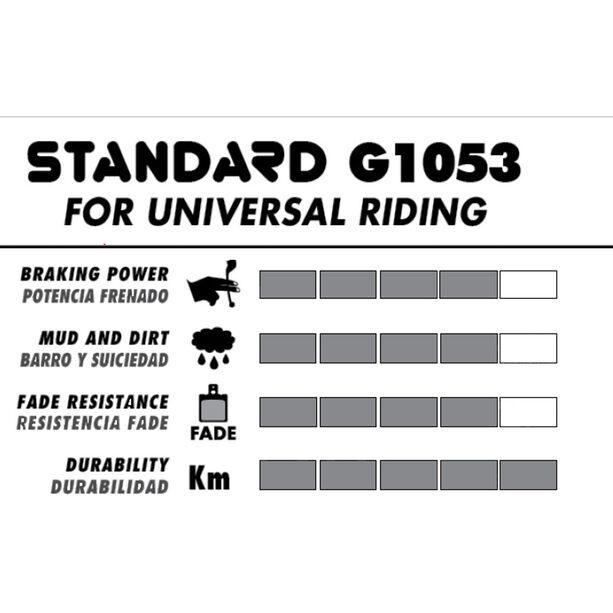 GALFER BIKE Standard Bremsbelag shimano br-m416/445/446/485/486/515/525/575, br-c601