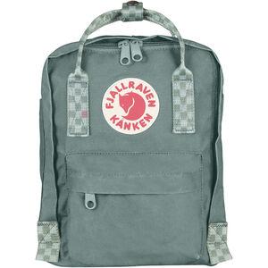 Fjällräven Kånken Mini Backpack Kinder frost green/chess pattern frost green/chess pattern