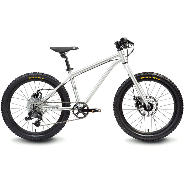 """Early Rider Hellion Trail MTB Hardtail 20"""" 2. Wahl Kinder brushed aluminum"""