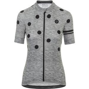 AGU Essential Dot Shortsleeve Jersey Damen grey/black grey/black