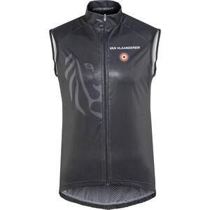 Bioracer Van Vlaanderen Pro Race Wind Vest Unisex black bei fahrrad.de Online