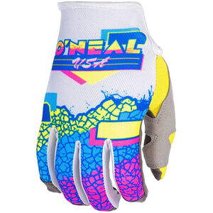 O'Neal Mayhem Handschuhe Crackle yellow/white/blue yellow/white/blue