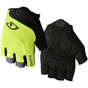 Giro Bravo Gel Gloves highlight yellow