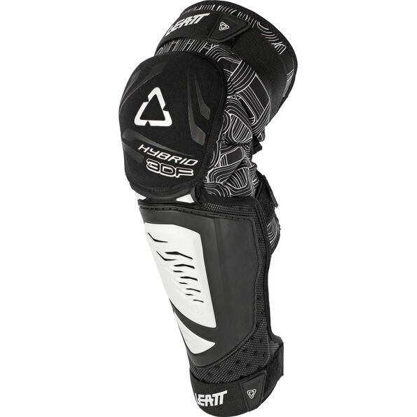 Leatt 3DF Hybrid EXT Knee & Shin Guard black/white