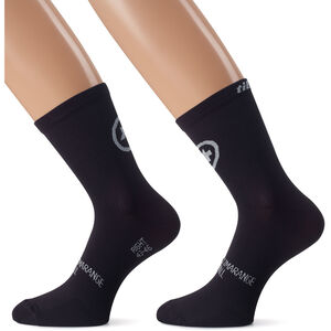 assos tiburuSocks_Evo8 Twin Pack black series black series