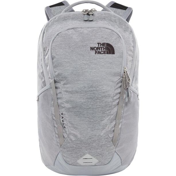 The North Face Vault Backpack mid grey dark heather/tnf black