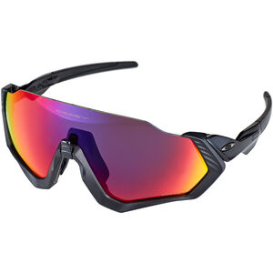 Oakley Flight Jacket Sunglasses polished black/prizm road polished black/prizm road