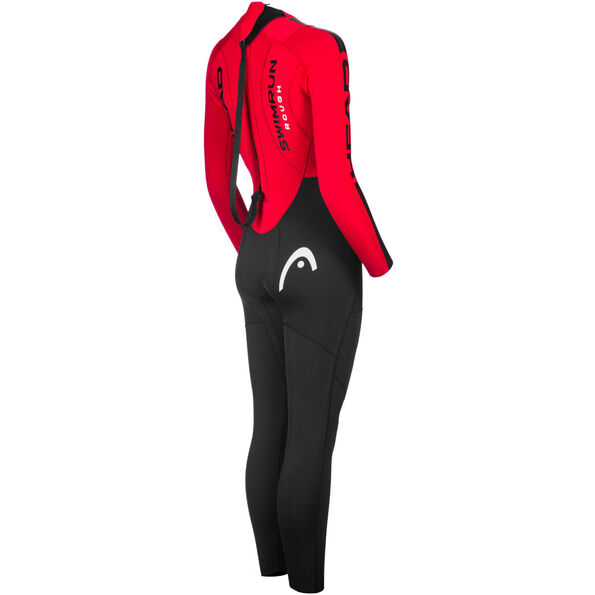 Head ÖTILLÖ Swimrun Rough Suit Damen black/red