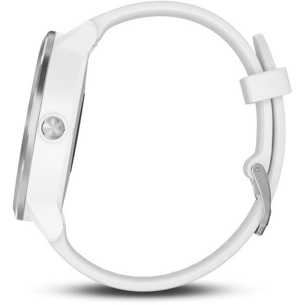 Garmin vívoactive 3 GPS Sportuhr mit weißem Silikonarmband