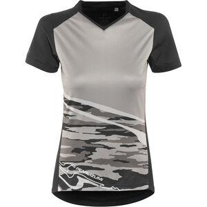 PEARL iZUMi Launch Shortsleeve Jersey Damen black/black vista black/black vista