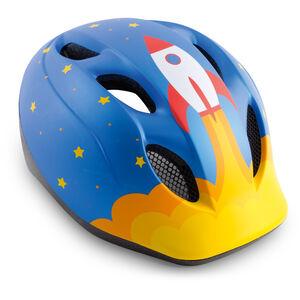 MET Buddy Helm Kinder blue rocket blue rocket