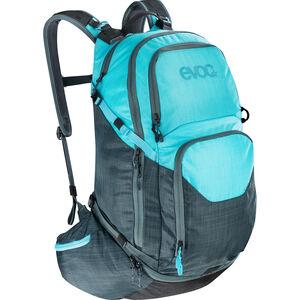 EVOC Explr Pro Technical Performance Pack 30l heather slate-heather neon blue heather slate-heather neon blue