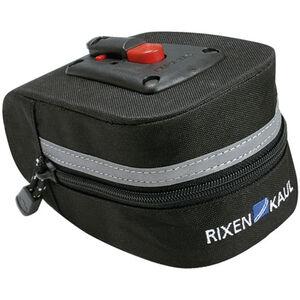 KlickFix Micro 100 Satteltasche schwarz schwarz
