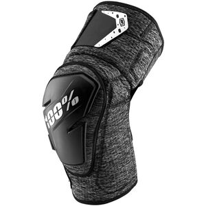 100% Fortis Knee Guards grey heather/black grey heather/black