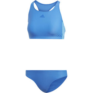 adidas Fit 3-Stripes Infinitex Bikini Damen true blue true blue