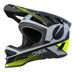 O'Neal Blade Polyacrylite Helm Ace black/neon yellow/gray black/neon yellow/gray