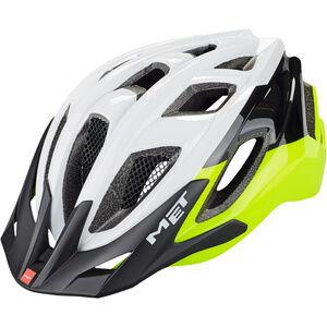 MET Funandgo Helm matt safety yellow/black/white
