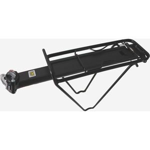Point Gepäckträger für Sattelstütze 9kg schwarz schwarz