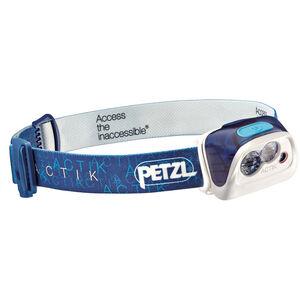 Petzl Actik Stirnlampe blau blau