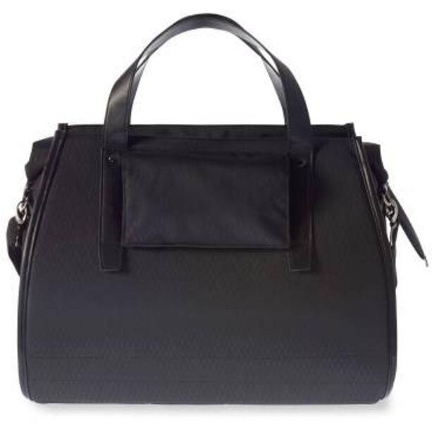 Basil Noir Business Gepäckträgertasche 17l midnight black