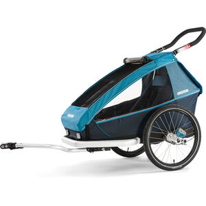 Croozer Kid Plus For 1 Kinderanhänger Kinder ozeanblau ozeanblau