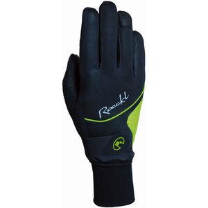 Roeckl Wallis Bike Gloves Damen black/yellow black/yellow
