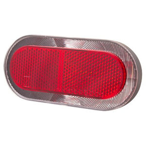 spanninga Elips XB Battery Rear Light black black