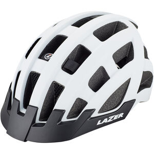 Lazer Compact Deluxe Helmet matte white bei fahrrad.de Online