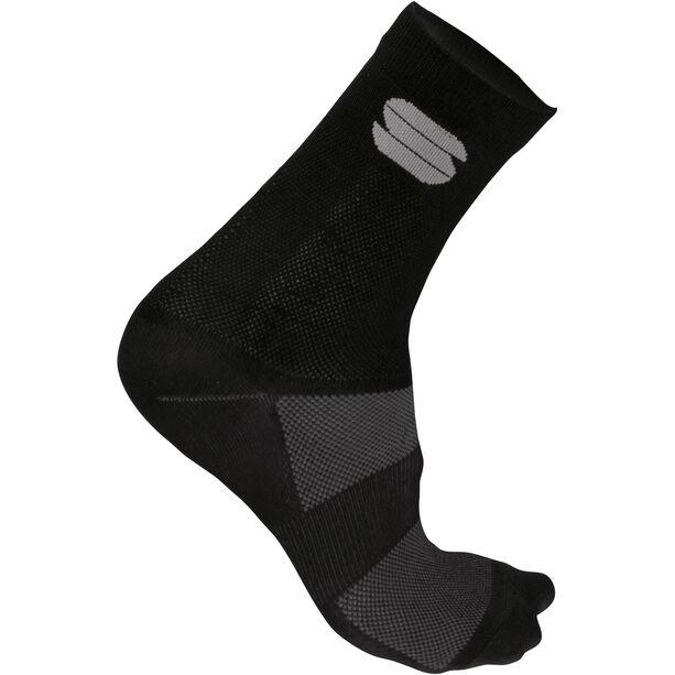 Sportful Ride 15 Socken Herren black