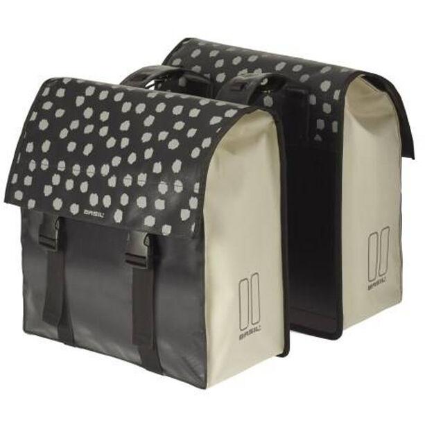 Basil Urban Load Doppel-Gepäckträgertasche 48-53l reflective/weiß