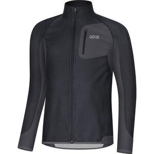 GORE WEAR R3 Partial Gore Windstopper Shirt Herren black/terra grey black/terra grey