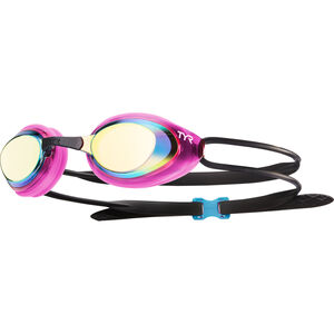 TYR Black Hawk Racing Mirrored Goggles Damen gold/pink gold/pink