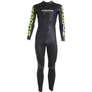 Zoggs FX3 Wetsuit Men Black/Green bei fahrrad.de Online