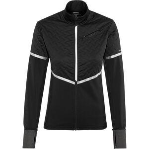 Craft Urban Run Thermal Wind Jacket Damen black/silver reflective black/silver reflective