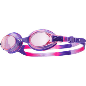 TYR Swimple Tie Dye Goggles Kinder pink/purple pink/purple