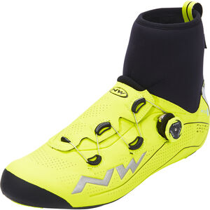 Northwave Flash Arctic GTX Road Shoes yellow fluo