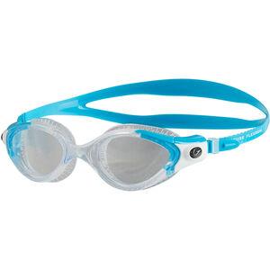 speedo Futura Biofuse Flexiseal Goggles Damen turquoise/clear turquoise/clear