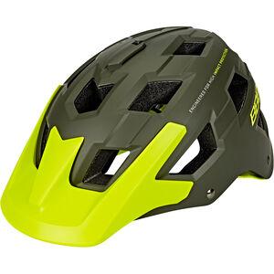 BBB Nanga BHE-54 Helm matt grün/neon gelb matt grün/neon gelb