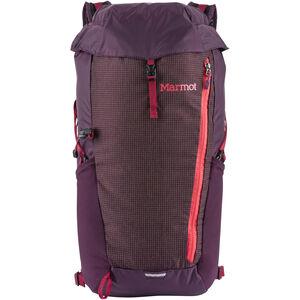 Marmot Kompressor Plus Daypack 20l dark purple/brick dark purple/brick
