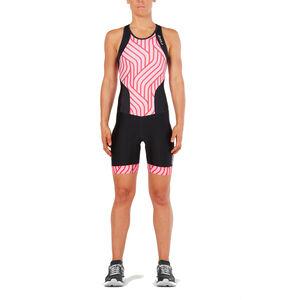 2XU Perform Y Back Trisuit Women black/rose pink tide bei fahrrad.de Online